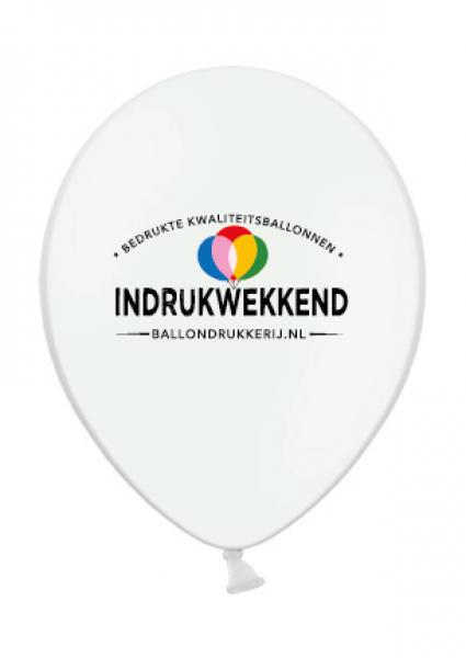 ballonnen met logo drukkerij